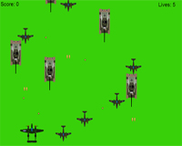 Airplane Shooter game